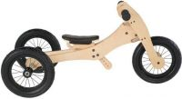 - Trybike hout 3 in 1 loopfiets